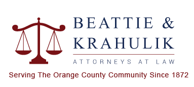 Beattie & Krahulik Attorneys at Law. When it comes to longevity in Orange County, there is no other law firm with as deep roots as Beattie & Krahulik.